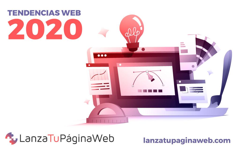 novedades diseño web 2020, tendencias diseño web, tendencias web