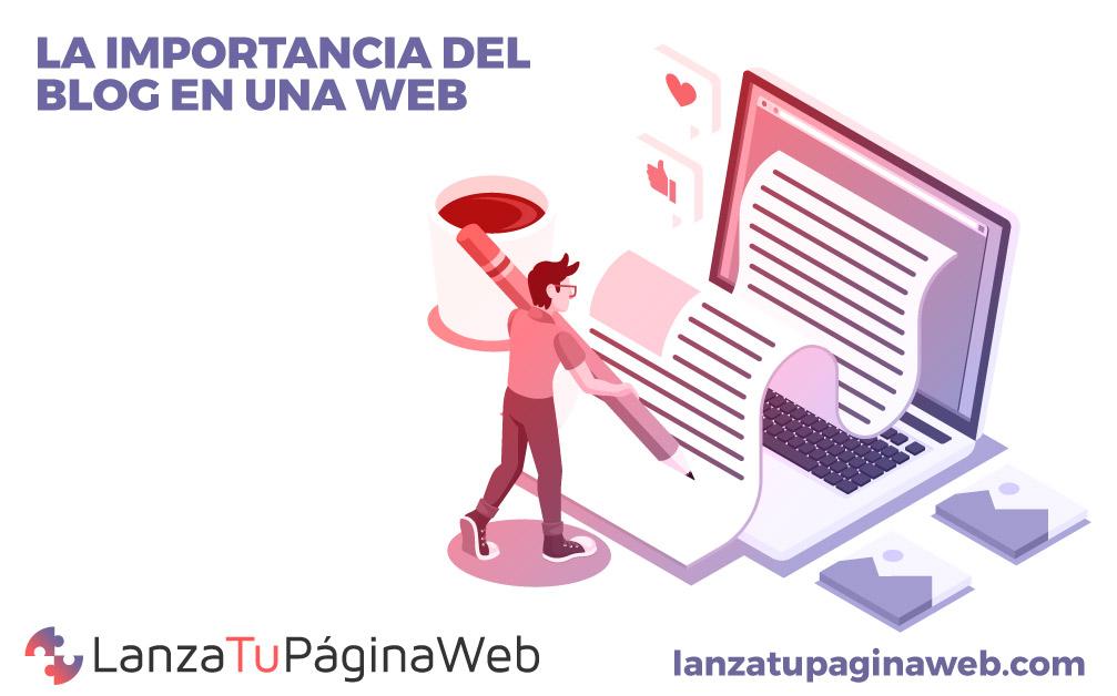 blog en una pagina web, blog corporativo en una web